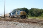 CSX 7927 follows the Q156