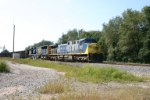 CSX 447 and hoppers