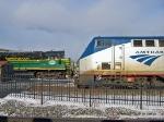 Amtrak 711 Departing Utica Union Station