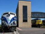 CSX 509 Passing Adirondack Scenic 1502