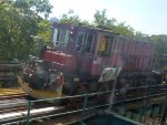 SBK GE R47 (47 ton) switcher N1 on  NYCT IRT Flushing Line