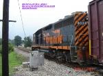 WE 302  Ex-PC 3113  GP40-3     Aug 10,2007