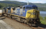 CSX 9010 Q164 at Bear Mountain NY Sept 10, 2008