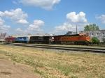 BNSF 7532, NS 8774, NS 3416