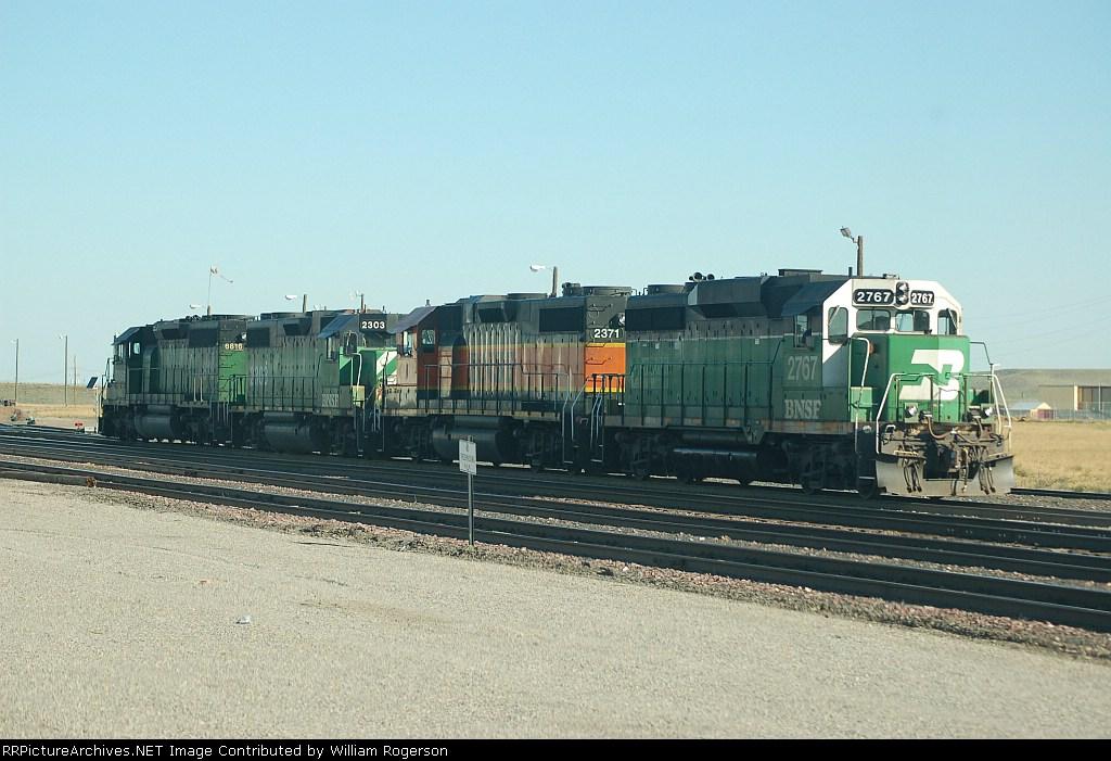 Burlington Northern Santa Fe Railway Diesel Locomotives
