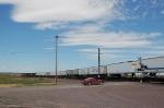 Westbound Burlington Northern Santa Fe Railway TOFC Freight Train