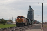 Westbound Burlington Northern Santa Fe Railway Container Train