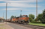 Eastbound Burlington Northern Santa Fe Railway Unit Grain Train