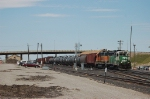 Burlington Northern Santa Fe Railway Local Freight Train