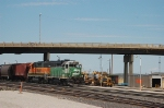 Burlington Northern Santa Fe Railway (BNSF) EMD GP39E No. 2767 and GP38-2 No. 2371