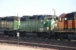 Burlington Northern Santa Fe Railway (BNSF) EMD GP38-2 No. 2303