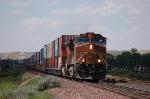 Eastbound Burlington Northern Santa Fe Railway Container Train
