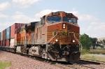 Burlington Northern Santa Fe Railway (BNSF) GE C44-9W's No. 4010 and No. 4480