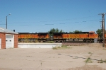 Burlington Northern Santa Fe Railway (BNSF) GE C44-9W's No. 4562 and No. 4639