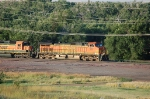 Burlington Northern Santa Fe Railway (BNSF) GE C44-9W No. 5021