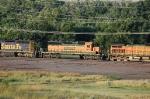 Burlington Northern Santa Fe Railway (BNSF) EMD SD40-2 No. 7879