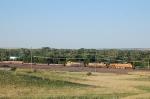 Westbound Burlington Northern Santa Fe Railway Empty Container Train