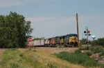 Eastbound Burlington Northern Santa Fe Mixed Freight Train