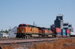 Westbound Burlington Northern Santa Fe Railway Container/TOFC Train