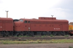 Burlington Northern Santa Fe Railway (BN) EMD F7A No. 972570