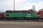 Burlington Northern Santa Fe Railway (BNSF) EMD GP 15-1 No. 1481