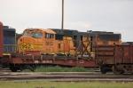 Burlington Northern Santa Fe Railway (BNSF) EMD SD70MAC No. 9863