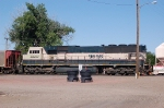 Burlington Northern Santa Fe Railway (BNSF) EMD SD70MAC No. 9698