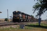 Westbound Burlington Northern Santa Fe Railway (Empty) Unit Coal Train led by EMD SD70MAC No. 9739