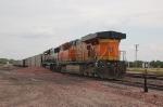 Burlington Northern Santa Fe Railway (BNSF) EMD SD70MAC No. 9513 and GE ES44AC No. 5868