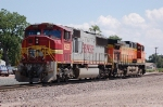 Burlington Northern Santa Fe Railway (BNSF) EMD SD75I No. 8296 and GE AC44CW No. 5634