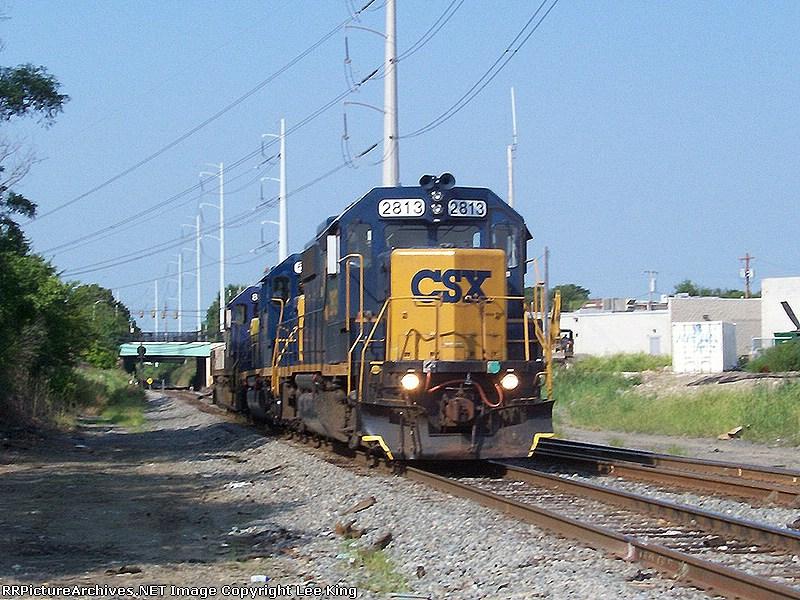 CSX 2813 D729