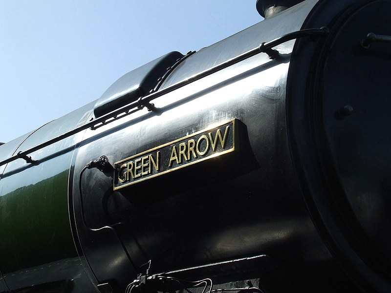 60800 'GREEN ARROW' visits from the National Railway Museum.