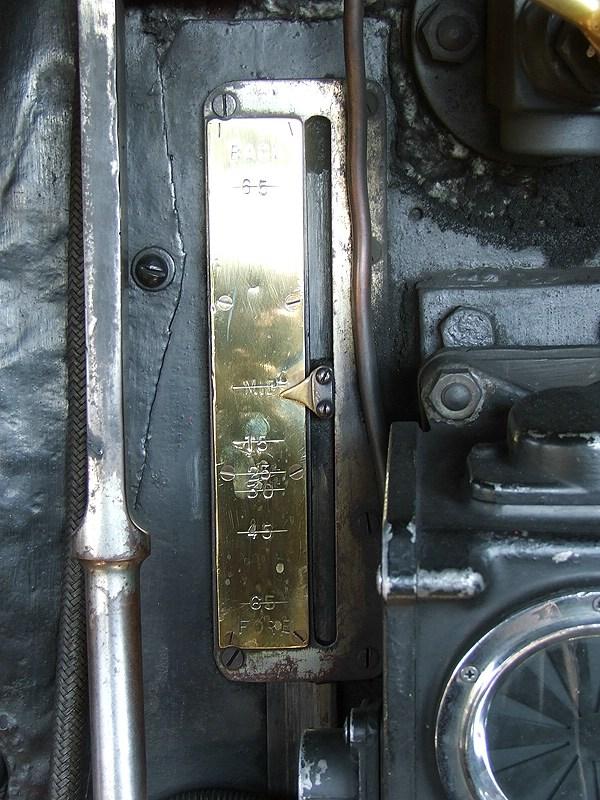 60800, reverser indicator.