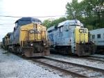 CSX 7697 & CSX 2258
