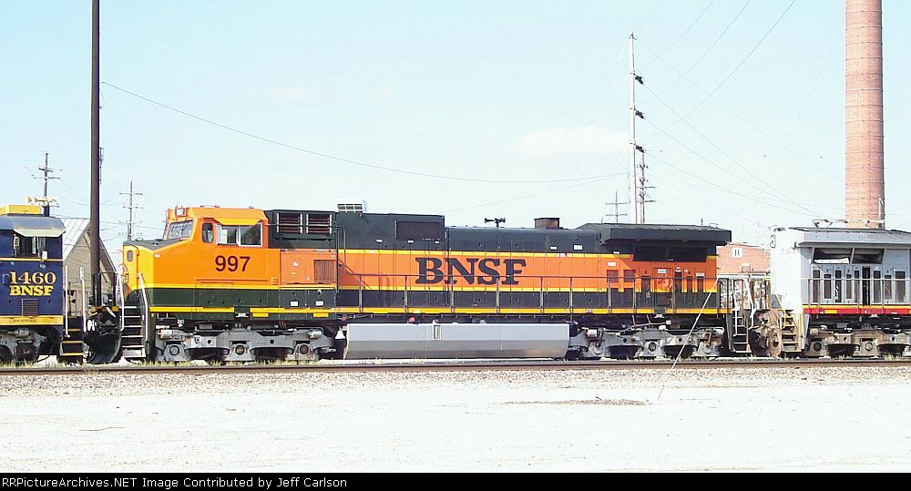 Wreck Rebuild BNSF 997