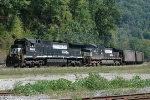 Westbound coal and NS GE's