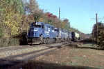 TV16a with a string of GP40-2s