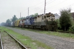 ex Reading GP35 with an SD35 and Frisco U25B