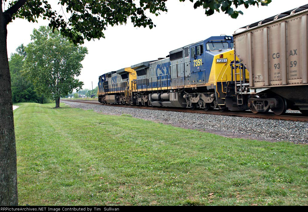 CSX 9012 and 7351