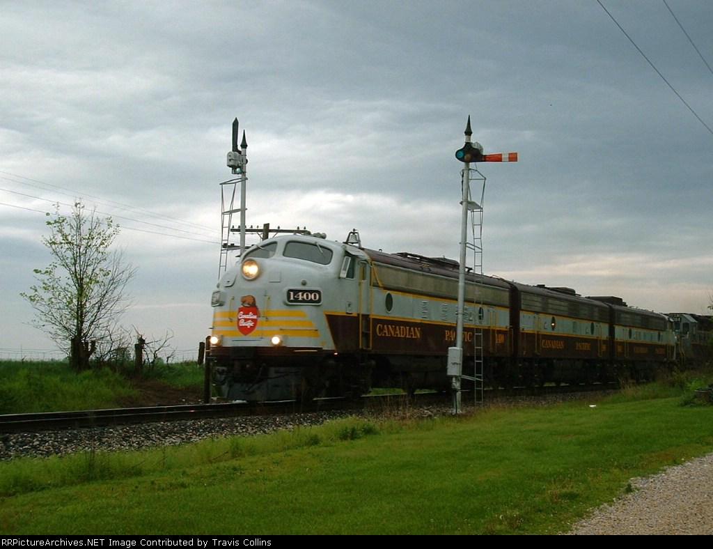 CP Derby Train Northbound