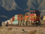 BNSF 628 first light