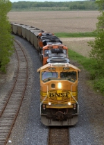 BNSF 8803, 5907, and 5730
