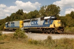 The power (GP40-2 and Slug) provide power for rail recovery train