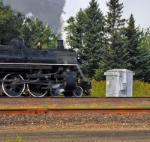 Entering CN track at Two Harbors Jct.