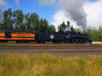 Pulling up the southbound mainline at Two Harbors Jct.
