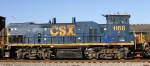 CSX 1166 heads north on train Q400-23