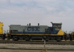 CSX 1130 is in a consist