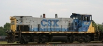 CSX 1137 switches the yard