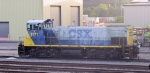 CSX 1171 sits outside the shops in Acca Yard