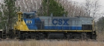 CSX 1171 sits in the yard